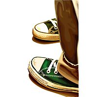 All Star running shoes Photographic Print