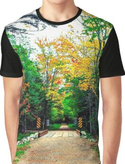 Autumn Bridge Graphic T-Shirt