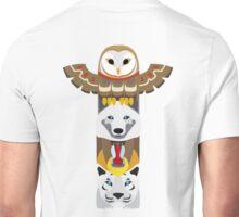 Alaskan Totem Pole Unisex T-Shirt