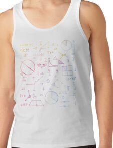 Math formulae (white) T-Shirt