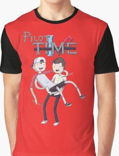 Adventure Time Parody Graphic T-Shirt