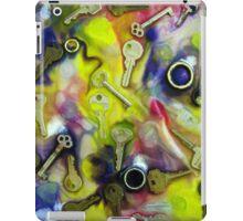Colourful Keys  Solar Print Process Image iPad Case/Skin