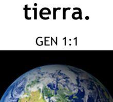 Genesis 1:1 Sticker