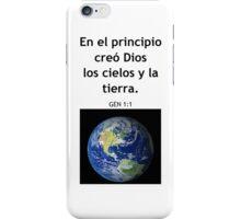 Genesis 1:1 iPhone Case/Skin