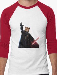 Kitty Darth Vader Starwars [TW] Men's Baseball ¾ T-Shirt