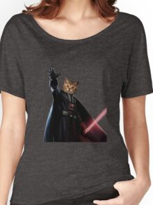 Kitty Darth Vader Starwars [TW] Women's Relaxed Fit T-Shirt