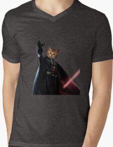 Kitty Darth Vader Starwars [TW] Mens V-Neck T-Shirt