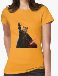 Kitty Darth Vader Starwars [TW] Womens Fitted T-Shirt