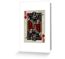 Darth Vader - Playing King Card Greeting Card