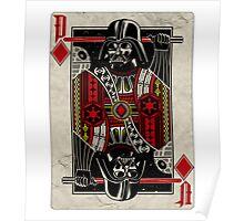Darth Vader - Playing King Card Poster
