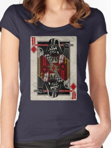 Darth Vader - Playing King Card Women's Fitted Scoop T-Shirt