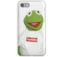 Kermit supreme  iPhone Case/Skin