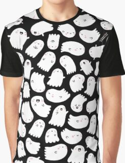 Spooky Kawaii Ghosts Graphic T-Shirt