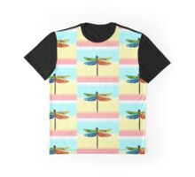 Rainbow Dragonfly Element ~ Earth Air Fire Water Graphic T-Shirt