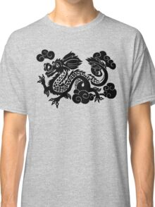 Year of the Luck Dragon (Black Ink)  Classic T-Shirt