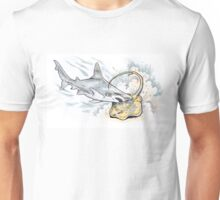 Sandbar Whaler V Blue Spotted Stingray Unisex T-Shirt