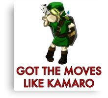 Legend of Zelda - Moves Like Kamaro  Canvas Print