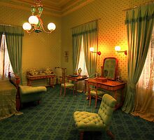 The Guest Room - Werribee Mansion by Hans Kawitzki