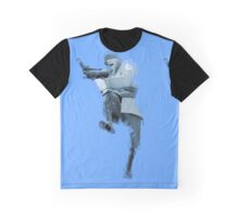 The Soldier (Paint Style, BLU) Graphic T-Shirt