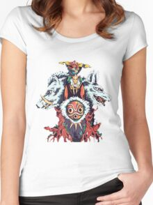 Princess Mononoke   Women's Fitted Scoop T-Shirt