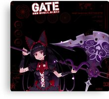 Rory Mercury: After Battle Stats Canvas Print