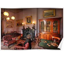 The Study - Werribee Mansion Poster