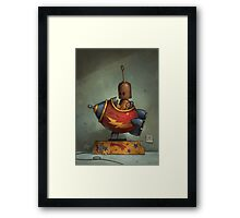 To Boldly Go Framed Print