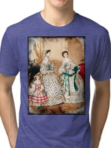 FASHIONABLE LADIES VINTAGE 66 Tri-blend T-Shirt