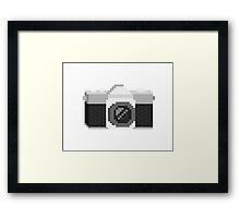 Pixel Camera Framed Print