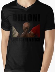 Predator Dillon You Son Of A Bitch Mens V-Neck T-Shirt