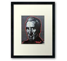 Christopher Lee Framed Print