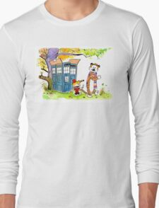Adventure in Time & Space! Long Sleeve T-Shirt