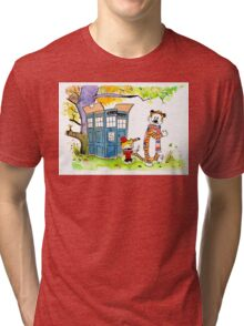 Adventure in Time & Space! Tri-blend T-Shirt