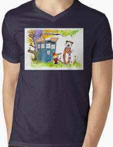 Adventure in Time & Space! Mens V-Neck T-Shirt