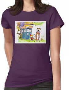 Adventure in Time & Space! Womens Fitted T-Shirt