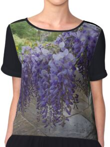 Wisteria in Spring Chiffon Top