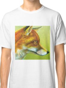 Portrait of a fox Classic T-Shirt