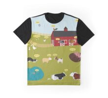 Dutch farm Graphic T-Shirt