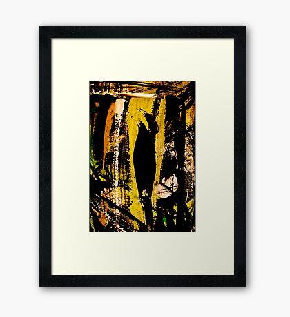 blackbird.... Framed Print