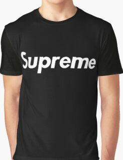 Supreme Black Box Logo Graphic T-Shirt