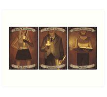 Buffy Occult Cards Art Print