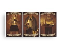 Buffy Occult Cards Canvas Print