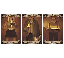 Buffy Occult Cards Photographic Print