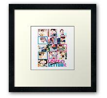 SEVENTEEN LOVE & LETTER Framed Print