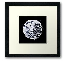 ninja owl  Framed Print