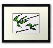 Greenery is All Framed Print
