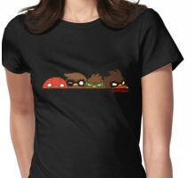 Go!Robins! - Robin Row Womens Fitted T-Shirt