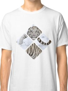 Tiled Tiger Classic T-Shirt