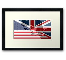 Audrey Made In Britain Framed Print