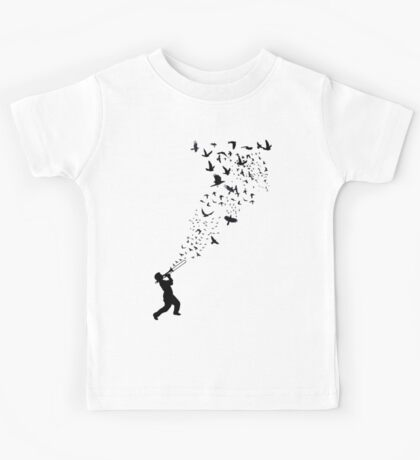 Music - Freedom Music and the Birds Kids Tee